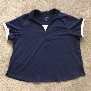 Fashion Bug plus size polo shirt